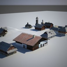 historic buildings collection 3D Model