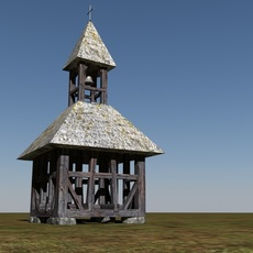 historic bell tower 3D Model