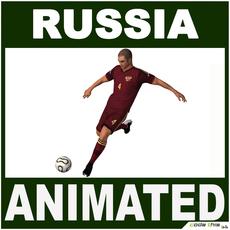 Soccer Player Russia CG 3D Model