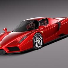 Ferrari Enzo F60 2002 3D Model