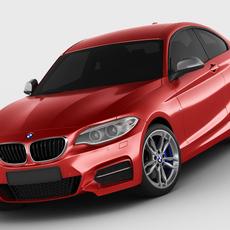 BMW M235i F22 3D Model
