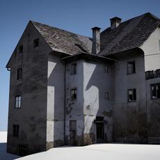 old ruinous house 3D Model