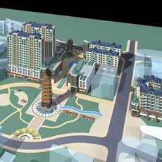 Architecture 116 3D Model