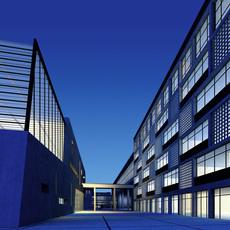 Architecture 178 office Building 3D Model