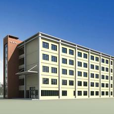 Architecture 269 office Building 3D Model