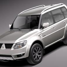 Mitsubishi Pajero TR4 2010-2013 3D Model