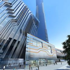 Architecture 357 office Building 3D Model