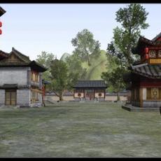 Ancient Architecture 001 3D Model