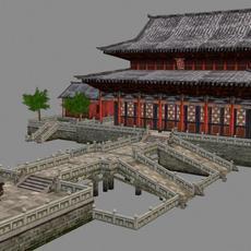 Ancient Architecture 004 3D Model