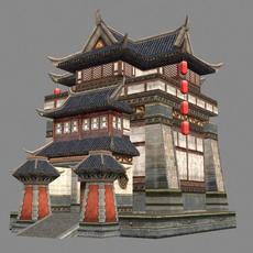 Ancient Architecture 009 3D Model