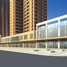 Architecture 463 office Building 3D Model