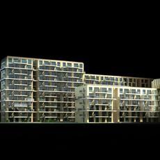 Architecture 478 office Building 3D Model