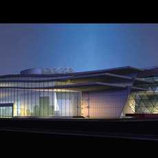 Architecture 516 Commercial Building 3D Model