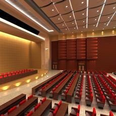Auditorium room 002 3D Model