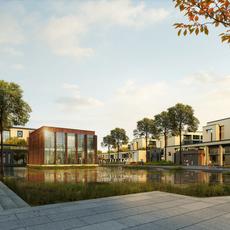 Architecture 054 -School building 3D Model