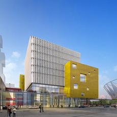 Architecture 061 -Mall building 3D Model