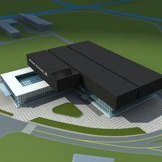 Architecture 647 Lab Building 3D Model