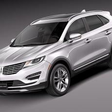 Lincoln MKC 2015 3D Model