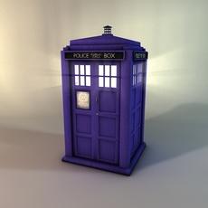 Police box (The Tardis) 3D Model