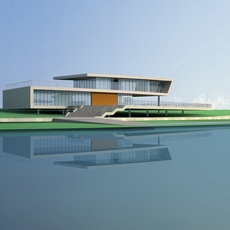 Architecture 694 office Building 3D Model