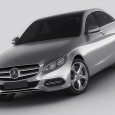 Mercedes C Class 2014 avantgarde 3D Model