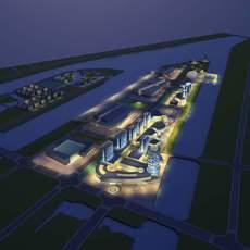 Architecture 715 City Block Building 3D Model