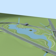 Architecture 771 Road 3D Model