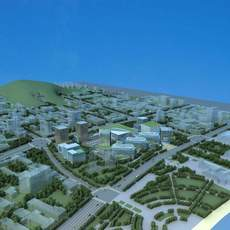 Architecture 783 City block Building 3D Model