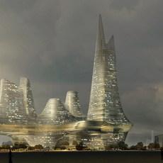 Architecture 784 Skyscraper Building 3D Model