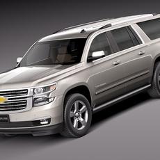 Chevrolet Suburban 2015 3D Model