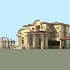 Architecture 808 VIlla Building 3D Model