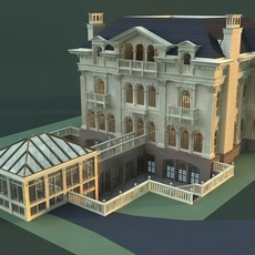Architecture 813 VIlla Building 3D Model
