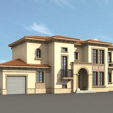Architecture 820 VIlla Building 3D Model