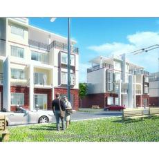 Architecture 830 VIlla Building 3D Model