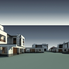 Architecture 8394 VIlla Building 3D Model