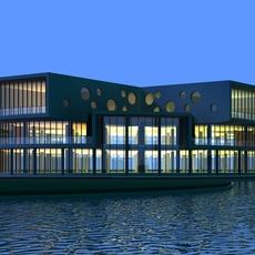 Architecture 889 Office Building 3D Model