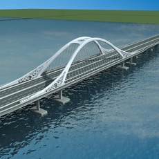 Bridge model 001 3D Model