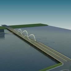 Bridge model 002 3D Model