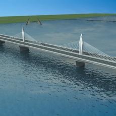 Bridge model 005 3D Model
