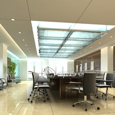 Conference Room 20 3D Model