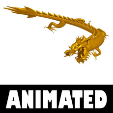 Dragon 009 3D Model