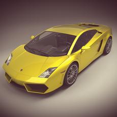Lamborghini Gallardo LP560-4 3D Model