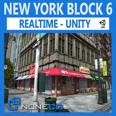 NYC Block #6 Unity 3D Model