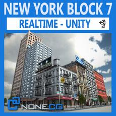 NYC Block #7 Unity 3D Model