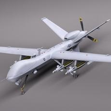 Reaper MQ-9 US Drone Predator 3D Model