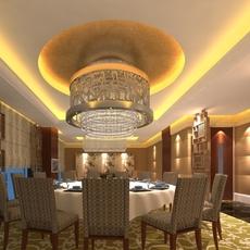 Restaurant 031 3D Model
