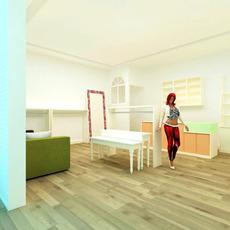 Store 008 3D Model