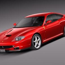 Ferrari 550 Maranello 1996-2002 3D Model