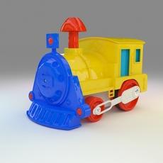 Toy Train, Oyuncak Tren 3D Model