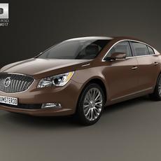 Buick LaCrosse (Allure) 2014 3D Model